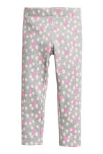 Leggings - Grey/Spotted -  | H&M 2